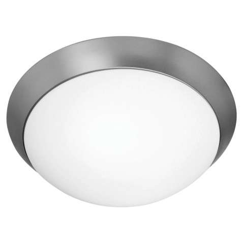 Access Lighting 20625GU-BS/OPL Cobalt Flush-Mount in Brushed Steel finish with Opal glass