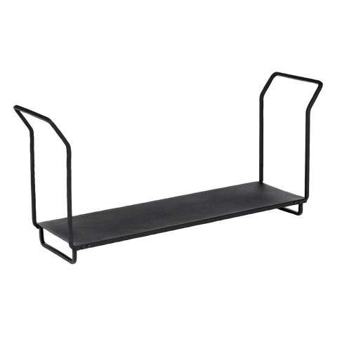 "Wrought Iron Wood Holder - 36"" - PC - Black"