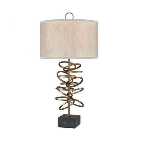Suspense Floor Lamp In Gold Plated