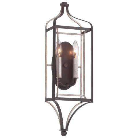 Astrapia 2 Light Wall Sconce