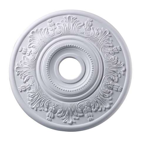 Elk Lighting M1004WH Lauerdale Medallion 21 Inch In White Finish