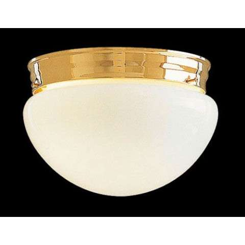 Minka Lavery Lighting F19-7010-22 9 Inch Mushroom in Polished Brass finish