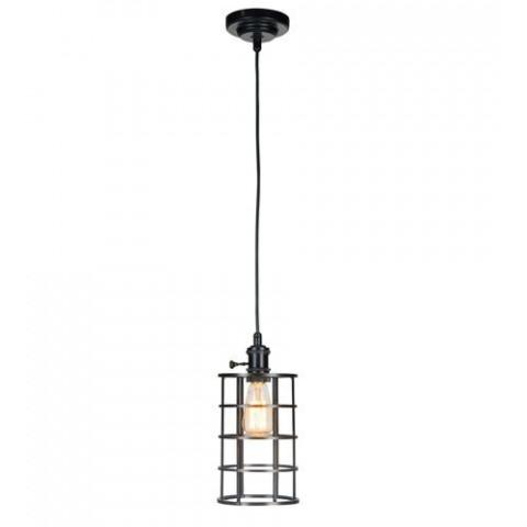 Craftmade Exteriors 1 Light Mini Pendant w/Wire Cage in Aged Galvanized