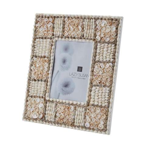5X7 Natural Shell Mosaic Frame