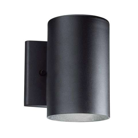 Outdoor Wall 1Lt LED in Textured Black