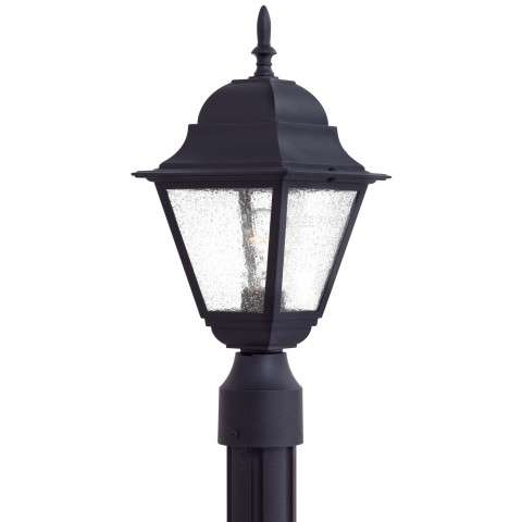 Minka Lavery Lighting 9066-66 Bay Hill Outdoor Post Mount in Black finish