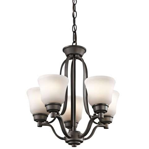 Langford - Mini Chandelier 5Lt - Olde Bronze