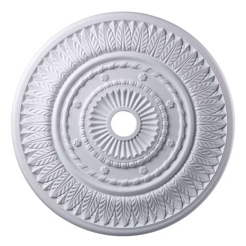 Elk Lighting M1013WH Corinna Medallion 33 Inch In White Finish