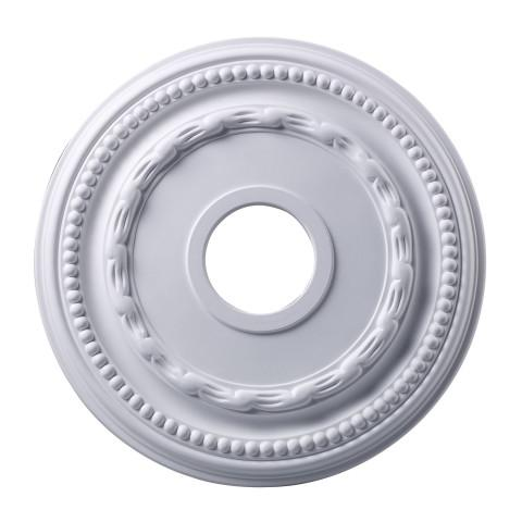 Elk Lighting M1001WH Campione Medallion 16 Inch In White Finish