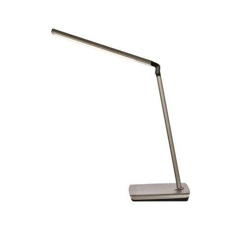Illumen Collection 1-Light metallic grey Finish LED Desk Lamp