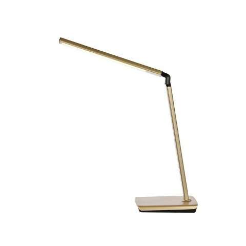 Illumen Collection 1-Light champagne gold Finish LED Desk Lamp