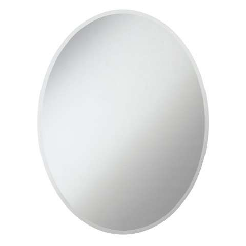 Modern 36 in. Contemporary Mirror in Clear