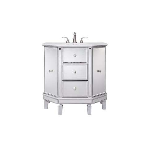 35 in. Single Bathroom Vanity