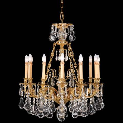 Metropolitan N9700 Twelve Light Chandelier