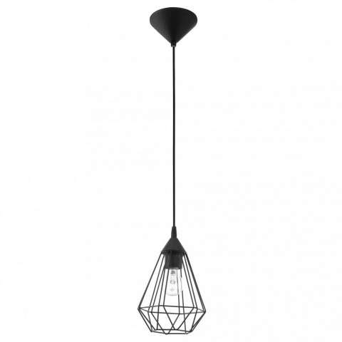 Tarbes 1x100W Cage Pendant w/ Matte Black Finish