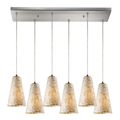 ELK Lighting 10142/6RC Pendant Light