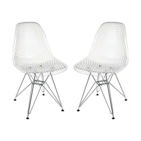 Vie En Rose Chair In Clear