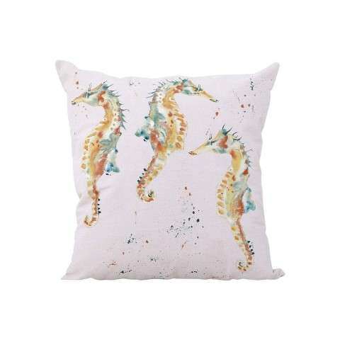 Herd Of Horses Pillow - Handpainted Art