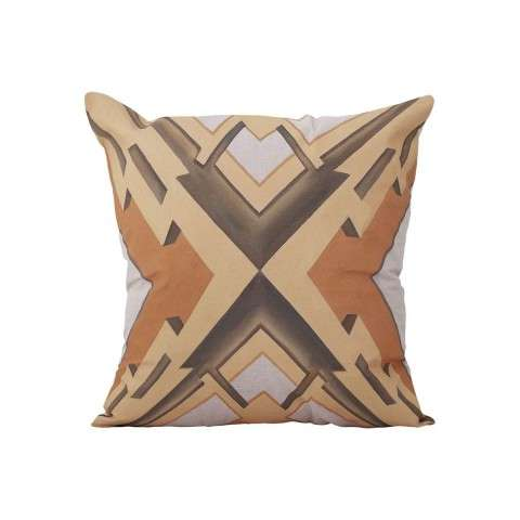 Art Deco Graphic Pillow - Handpainted Art