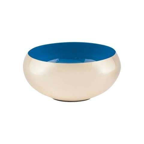 Argos Round Bowl in Gold