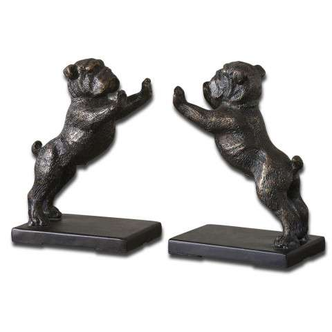 Uttermost 19643 Bulldogs - S/2
