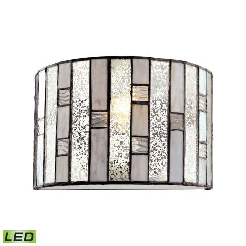 Ethan 1 Light LED Wall Sconce In Tiffany Bronze