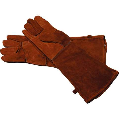"Hearth Gloves - 20"" Large Red"