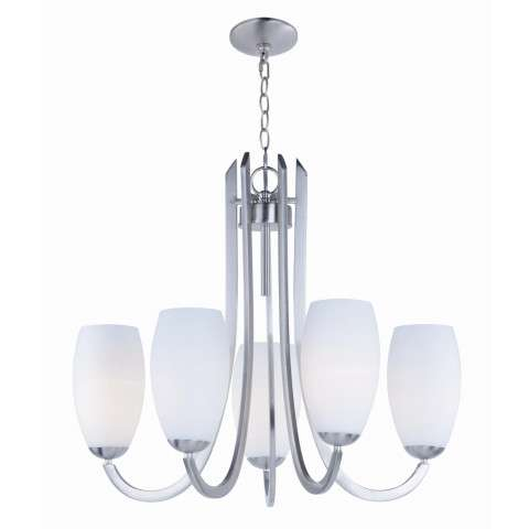 Taylor 5-Light Chandelier in Satin Nickel