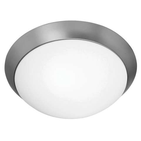 Access Lighting 20626GU-BS/OPL Cobalt Flush-Mount in Brushed Steel finish with Opal glass