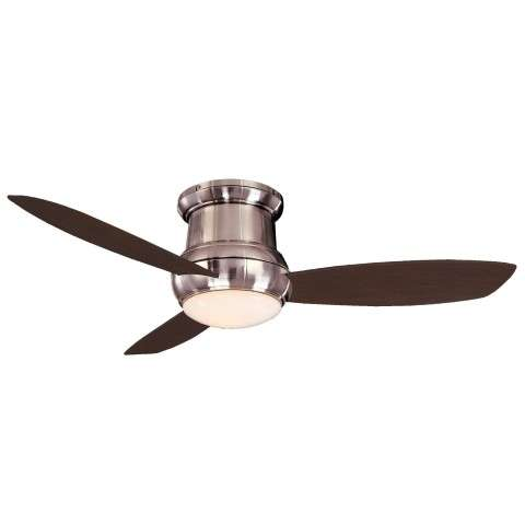 Minka Aire Concept II 52 LED Ceiling Fan Model F519L-BN-FB217-DW in Brushed Nickel