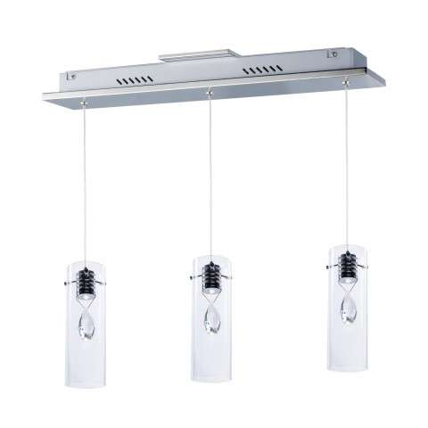 Solitaire 3-Light LED Pendant