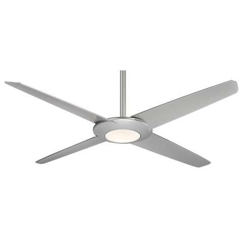 Minka Aire Pancake XL LED Ceiling Fan Model F739L-SL in Silver