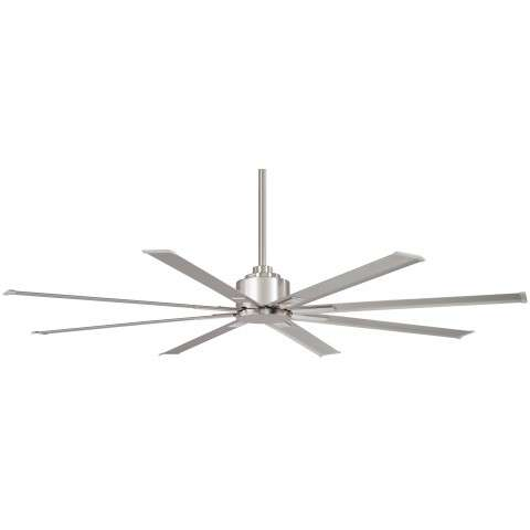 "Minka Aire F896-65-BNW 65"" Wet Rated Xtreme H2O Ceiling Fan Motor in Brushed Nickel"