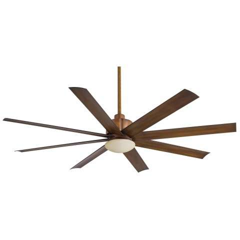 Minka Aire Slipstream Ceiling Fan Model MF-F888L-DK in Distressed Koa