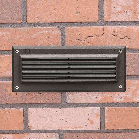 Utilitarian Landscape - LED Brick Light in Textured Architectural Bronze