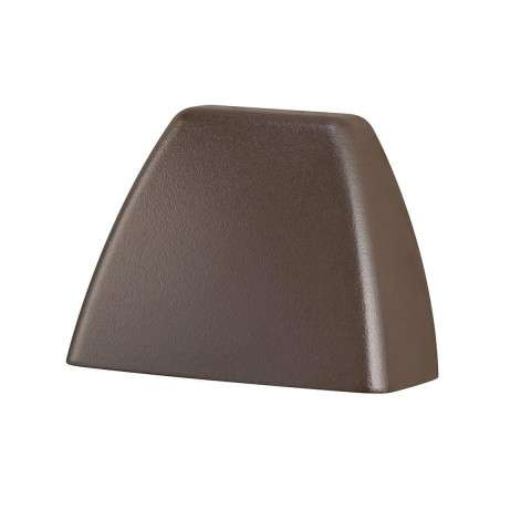 Utilitarian Landscape - LED Deck Light in Textured Architectural Bronze