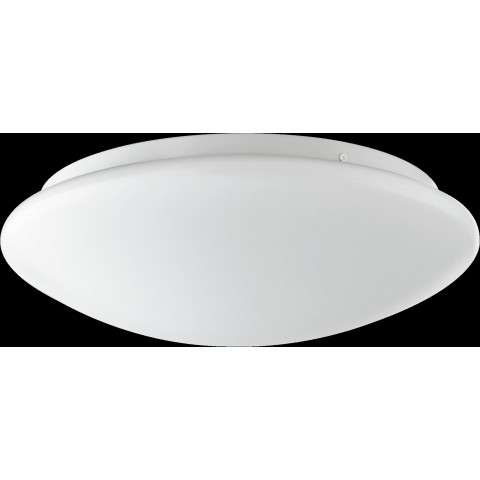 LED 15 Watt Round Acrylic Ceiling Mount in White