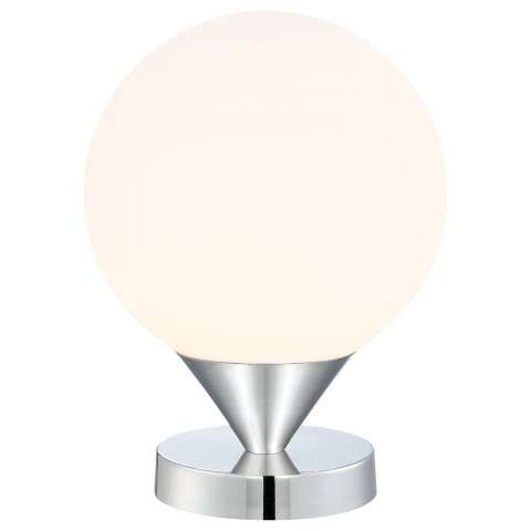 Simple Table Lamp in Chrome