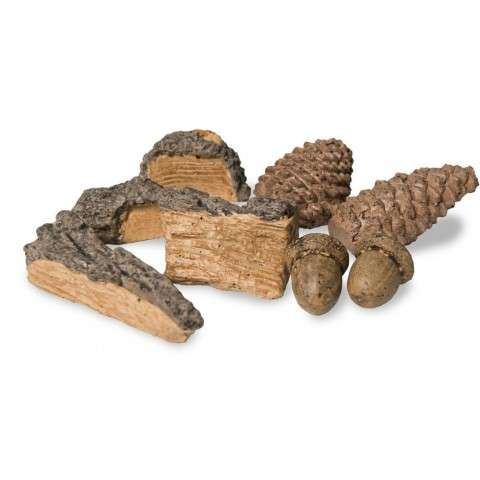 R. H. Peterson HDK-1 Gas Log Holiday Decor Kit