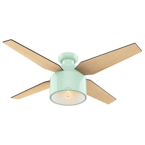 "Cranbrook Collection - 52"" Mint Green Low Profile"
