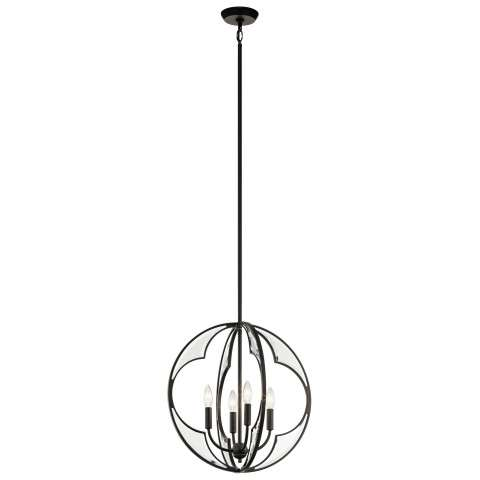 Montavello Chandelier 4 Light in Olde Bronze
