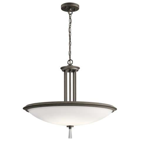 Dreyfus Pendant 4 Light in Olde Bronze