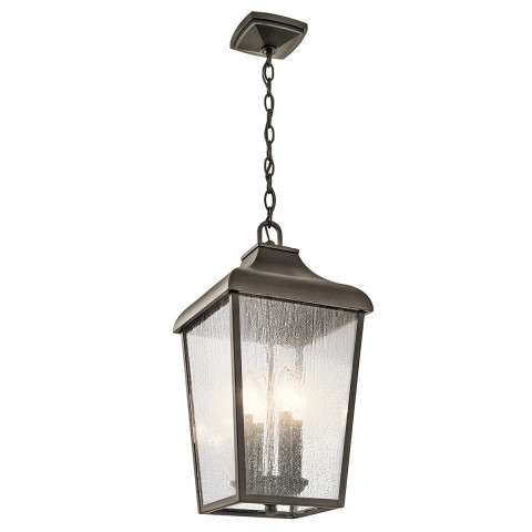 Forestdale Outdoor Pendant 4 Light in Olde Bronze