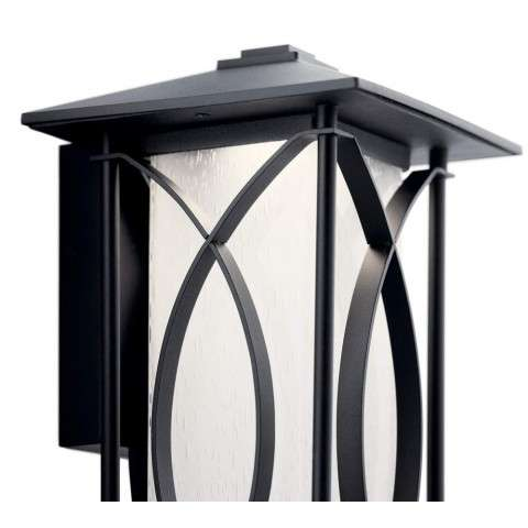 Ashbern Transitional Outdoor Wall LED In Textured Black