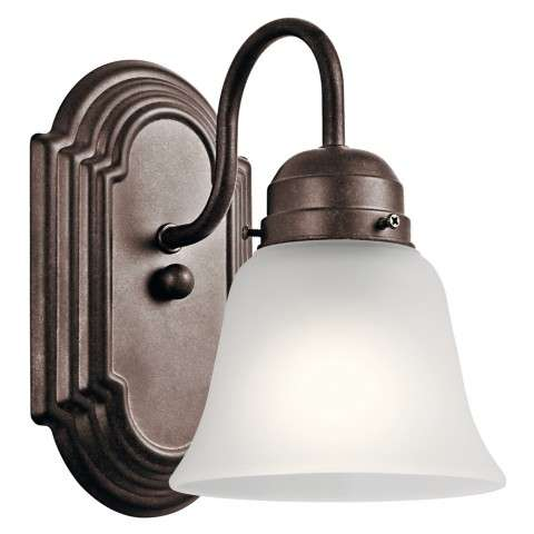 Traditional Wall Sconce 1Lt In Tannery Bronze