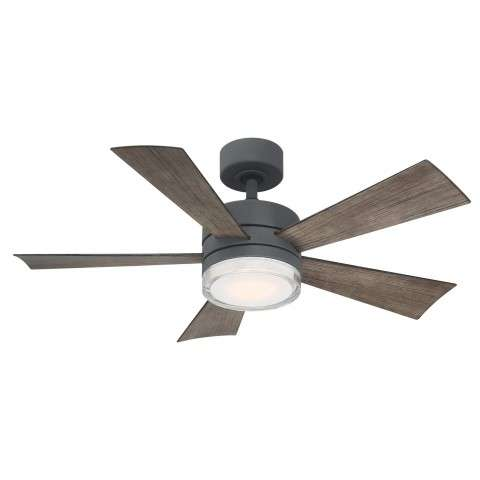 FR-W1801-42L-GH-WG Modern Forms Wynd 42 Inch DC Smart Ceiling Fan