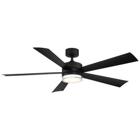 FR-W1801-52L-MB Modern Forms Wynd 52 Inch DC Smart Ceiling Fan