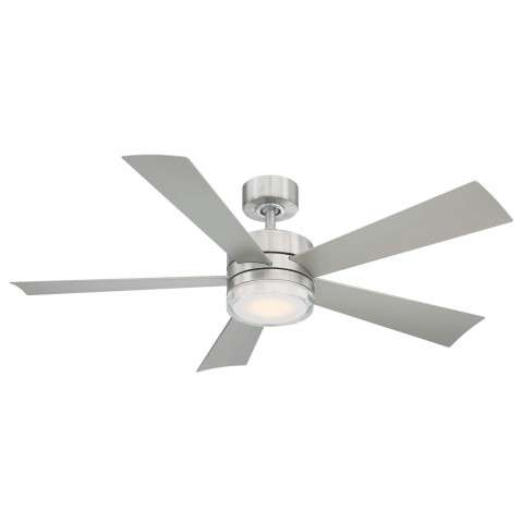 FR-W1801-52L-SS Modern Forms Wynd 52 Inch DC Smart Ceiling Fan
