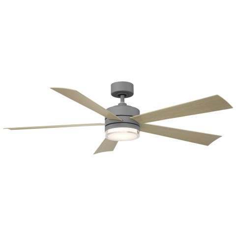 FR-W1801-60L-GH/WG Modern Forms Wynd 52 Inch DC Smart Ceiling Fan