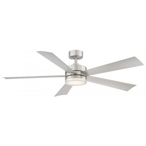FR-W1801-60L-SS Modern Forms Wynd 52 Inch DC Smart Ceiling Fan